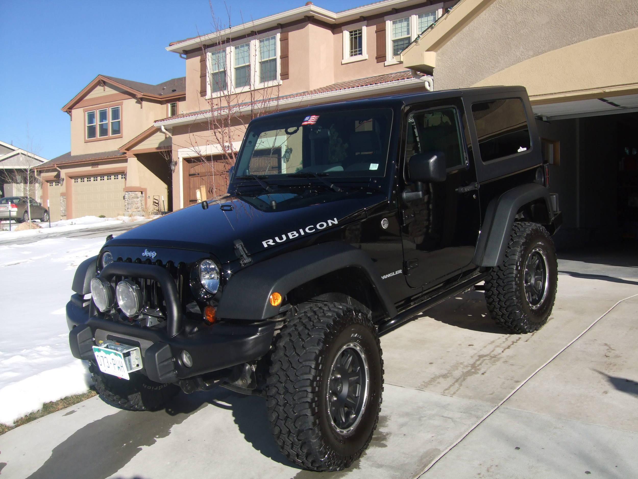 Blacked Out Unlimiteds... Pics Please! - Page 2 - JeepForum.com