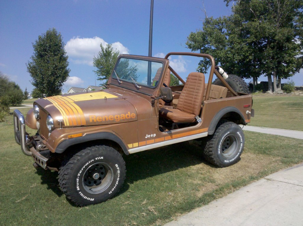 My 1979 Jeep CJ-7