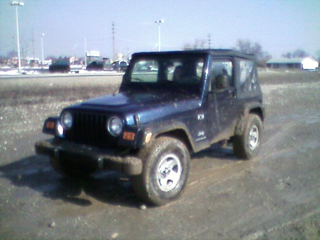 2003 TJ, stock, first trail ride, columbus ohio