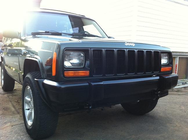 Jeep, Cherokee, 97, XJ