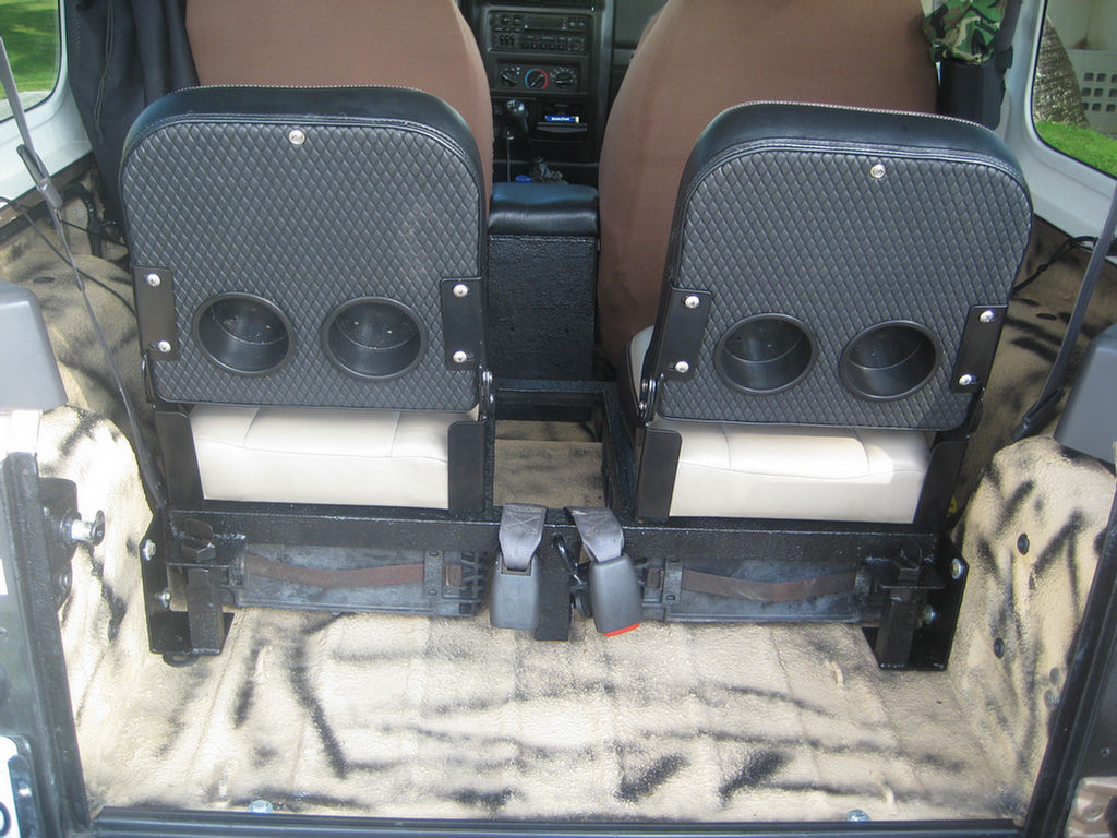 Tj Successful Rear Bucket Seats Project Jeepforum Com