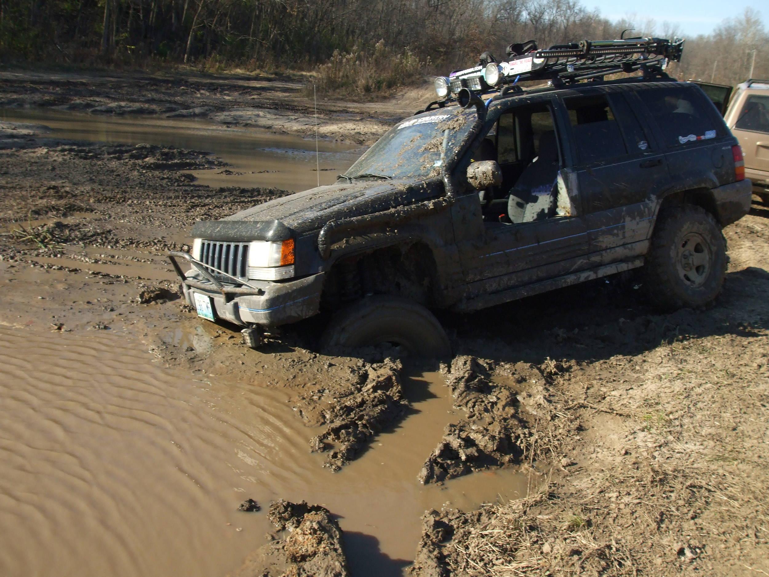 stuck mud