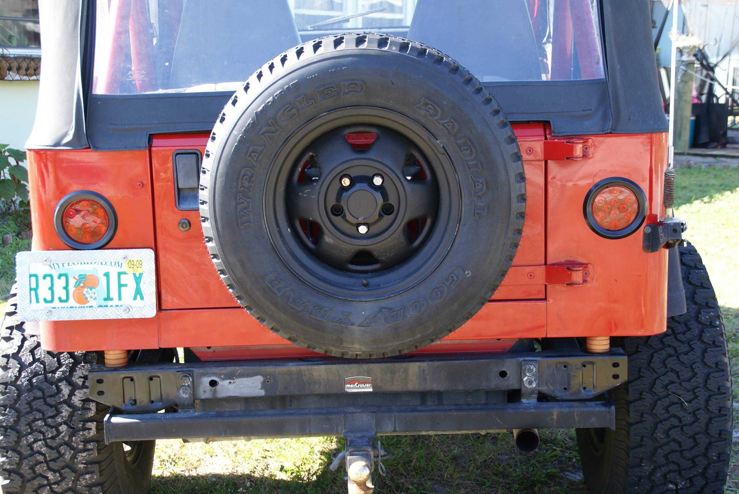 Need Taillight Wiring Diagram For 91 Yj Jeepforum Com