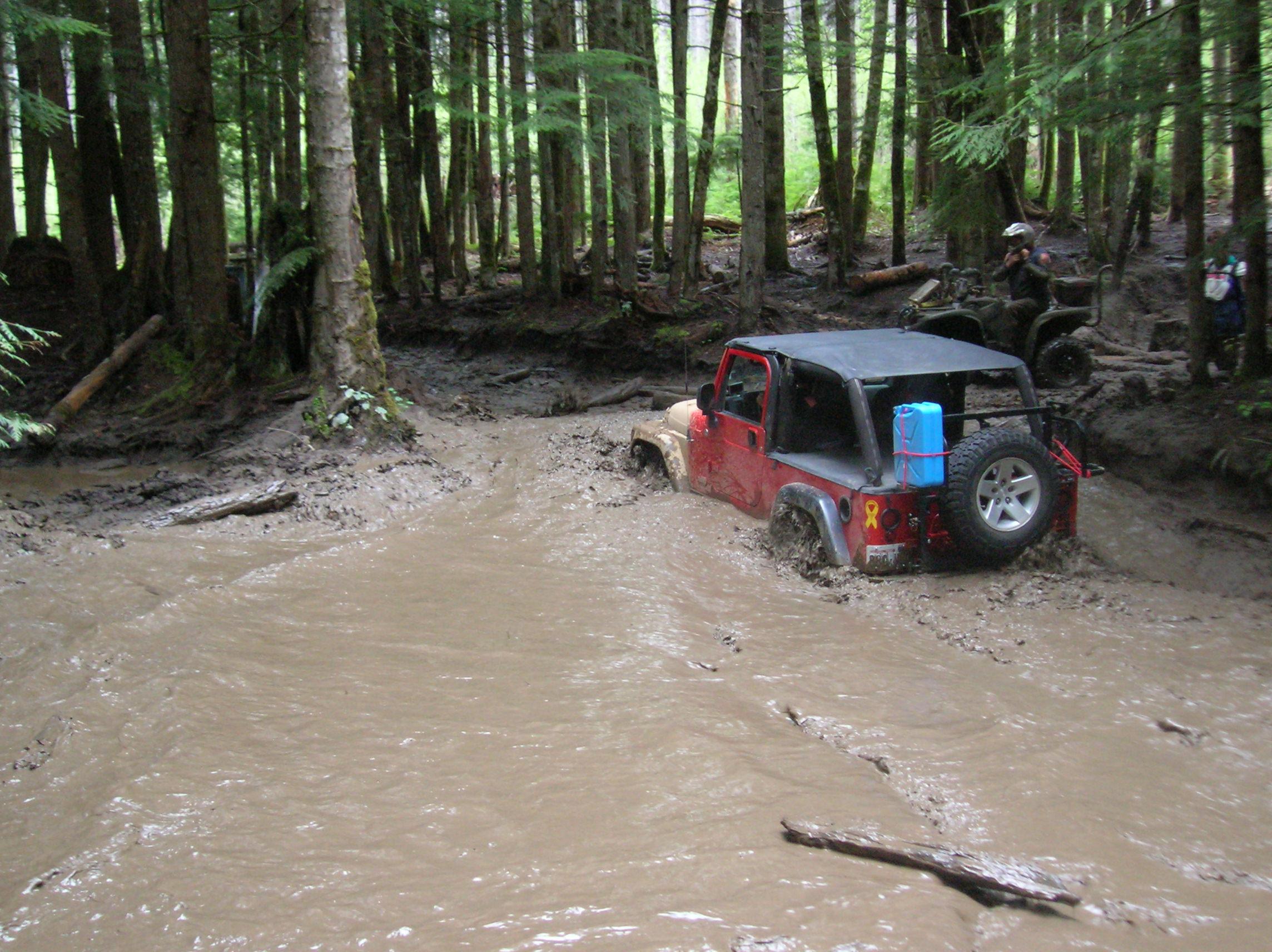 water mud unlimited LJ offroad