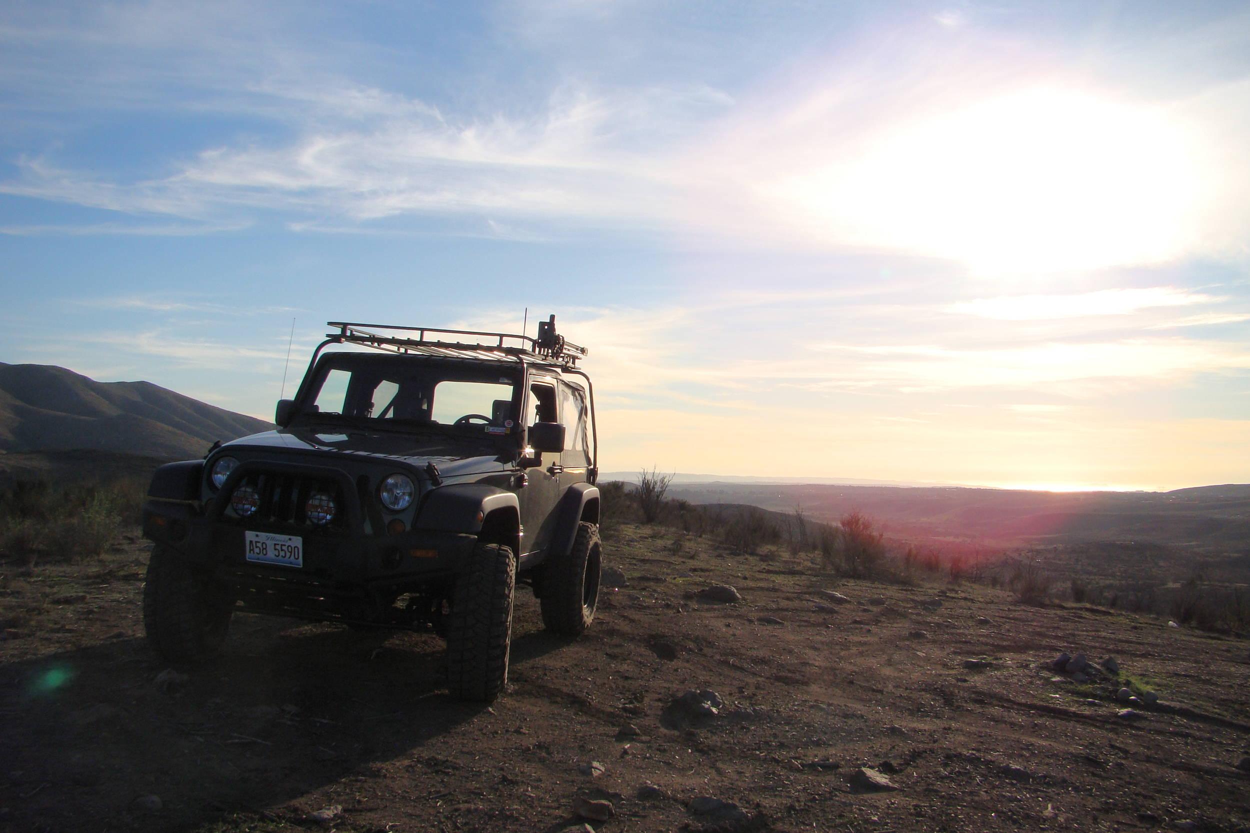 jeep, jk, wrangler, green, san, diego