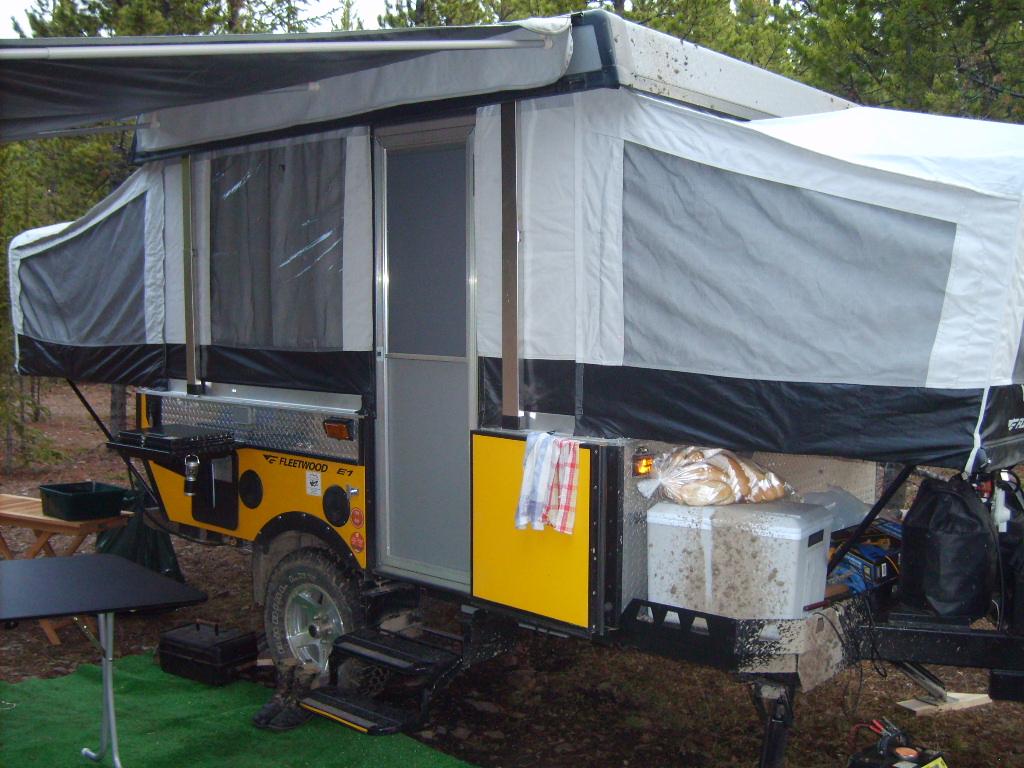 Camping - Waiparous 2009