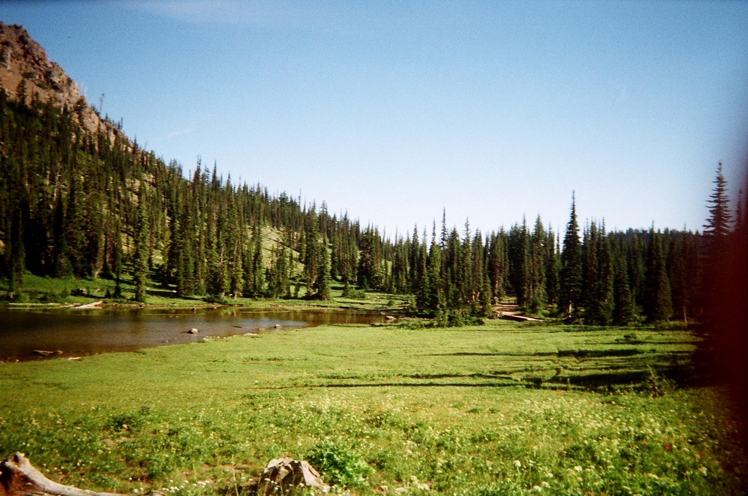 Fortune Creek, Gallagher, Gallagher Head, Lake, Roslyn, WA, Washington