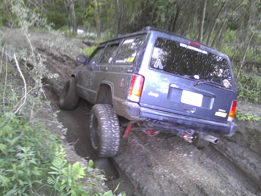cherokee stuck
