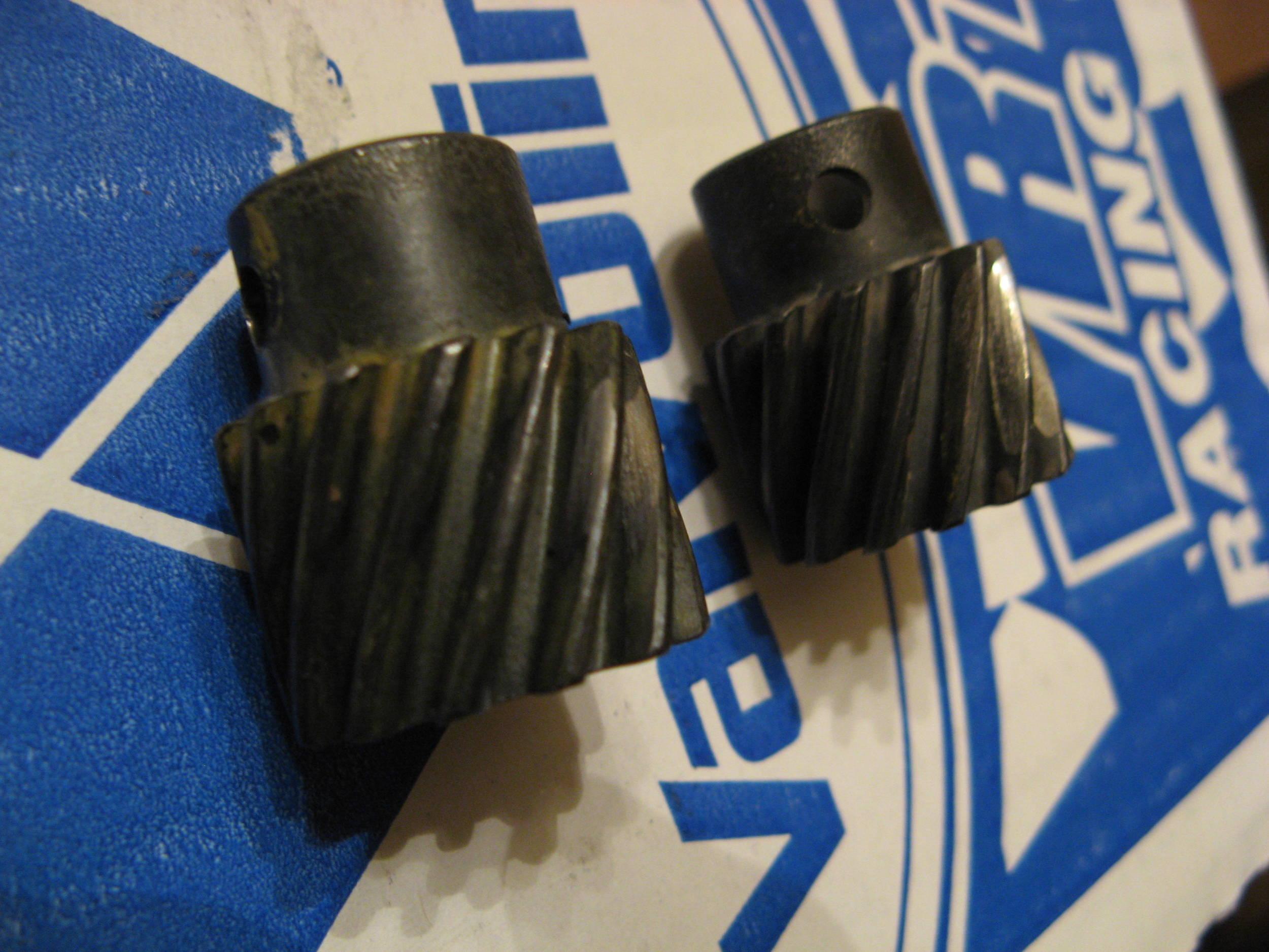 Damaged OPDA gears