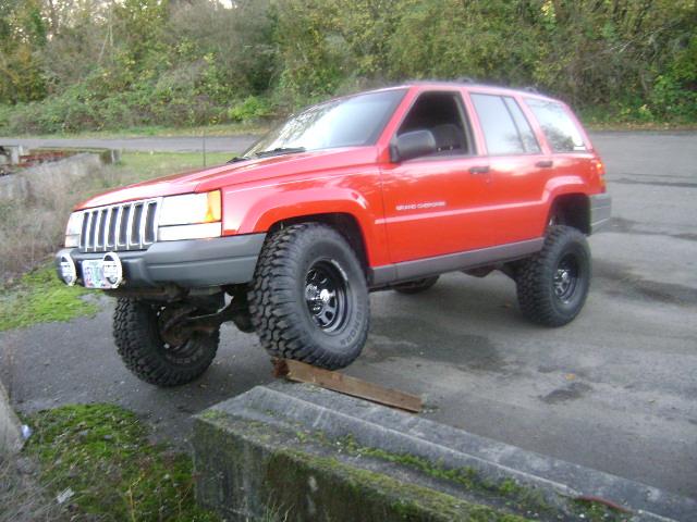 Flex ZJ Jeep Grand Cherokee Lifted 4x4