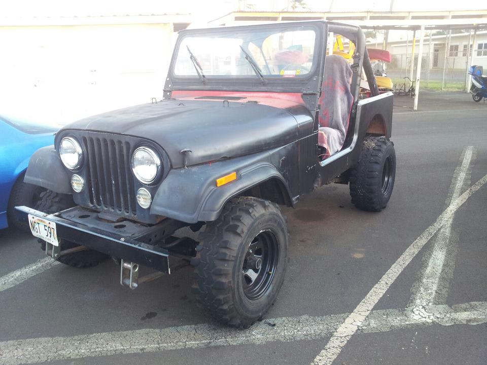 1984 CJ7 4.2L